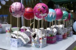 Balloon party decopatch activity