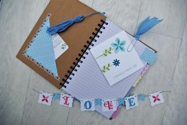 Notebook decorating
