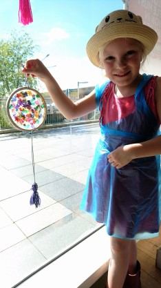 Sun catcher making