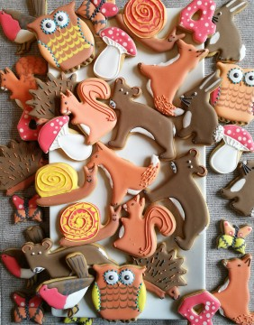 Autumnal biscuits by Sarah B