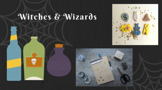 Witch and Wizard craft and biscuit decorating classes